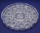 1960s Vintage CHECKERBOARD GLASS PLATTER Tray