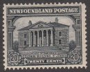 CANADA Stamp 20c NEWFOUNDLAND COLONIAL ST JOHN 1928 #95 Unused